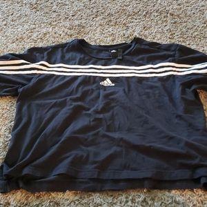 Adidas long crop top